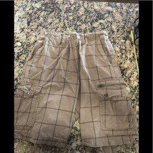 Used American Rag cargo shorts. Size 32
